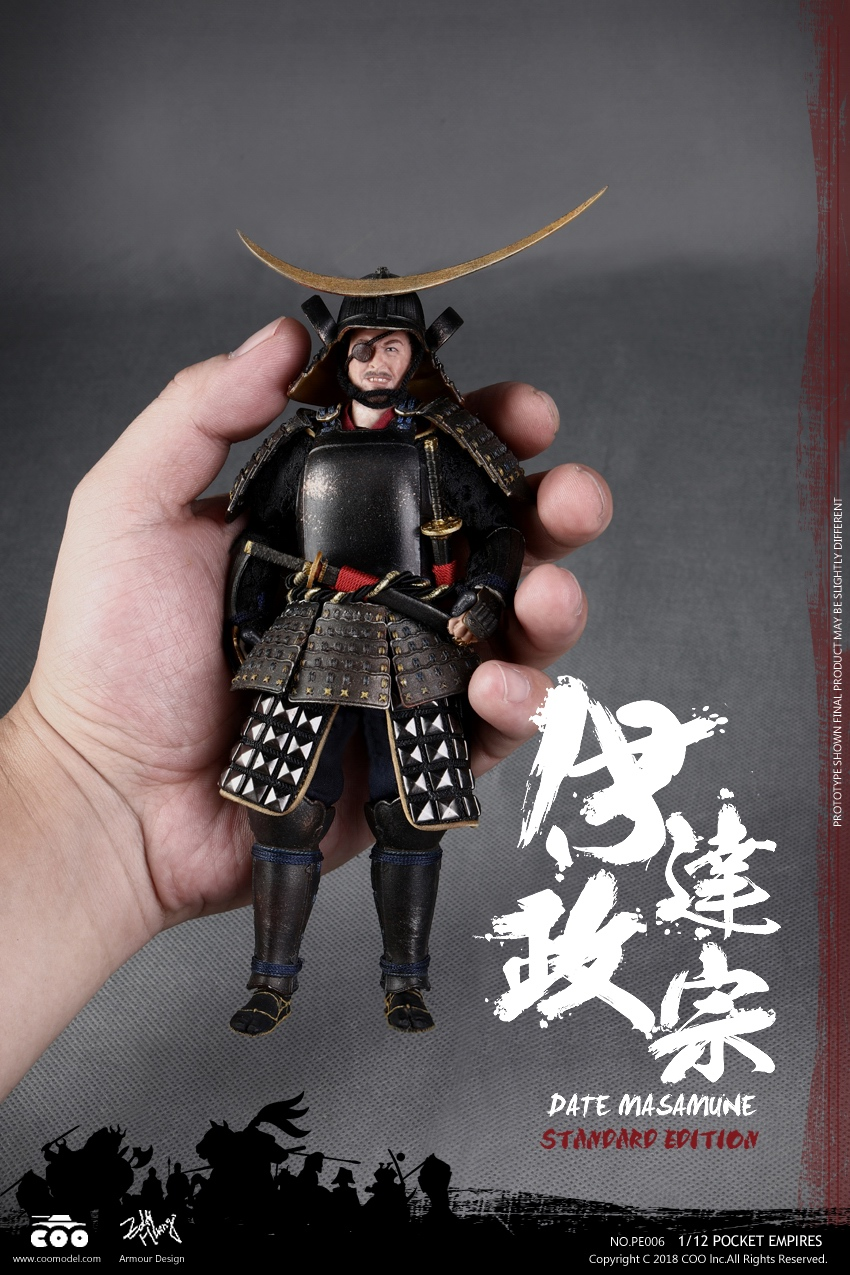 COOMODEL Japanese Samurai DATE MASAMUNE STANDARD EDITION 1 12 Figure