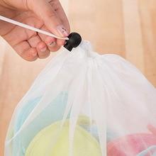Dropshipping Laundry Net Bag Drawstring Closure Washing Machine Aid Mesh Bags for Shirts Bra Lingerie Underwear MDP66