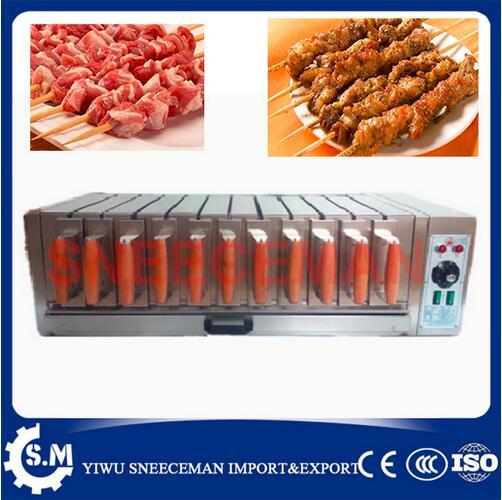 Machine électrique de barbecue de four de série de gril de 11 tiroirs