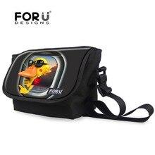 Funny Yellow Duck Frog Messenger Bag for Women Girls Children Crossbody Bag Casual Handbags Female Shoulder Travel Bag Mochila