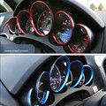 5 Шт./компл. dashboard Интерьер Погонаж ABS наклейки 3D Украшения Круги Для porsche 2010-2016 cayenne Panamera 2008-2016 911