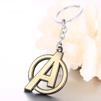 Movie The Avengers Logo Keychain (2 Colors) 3