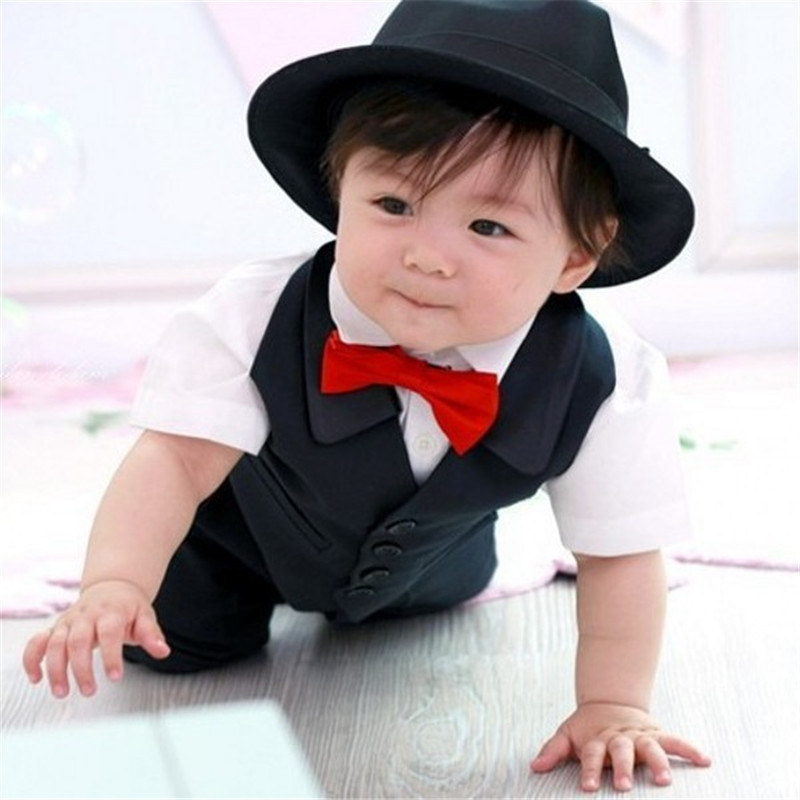 Newborn Baby Boy Party Wedding Ties Child Ties Necktie Bow tie Accessories New Sale