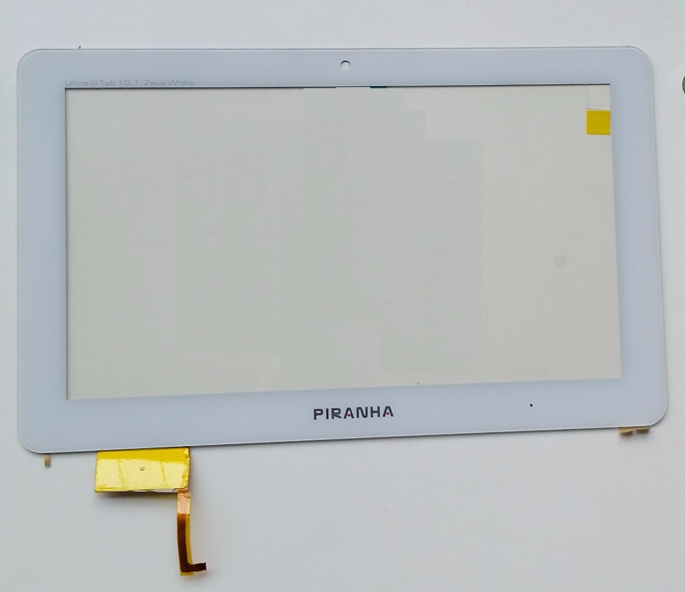 10.1 inch touch screen for Piranha Ultra 3 10.1 Zeus digitizer glass touch panel replacement Tablet PC Free Shipping new for 5 qumo quest 503 capacitive touch screen touch panel digitizer glass sensor replacement free shipping