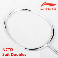 Suit Doubles Lining Badminton Rackets N7 TD TB nano LiNing Badminton Offensive Defensive LiNing Racquet With Overgrip L241OLB