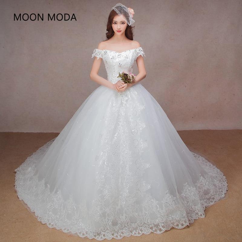 Gaun pengantin kalkun gaun pengantin berkualitas tinggi 2018 dengan gaun pengantin ekor panjang gaun mewah strapless putri gaya pengantin
