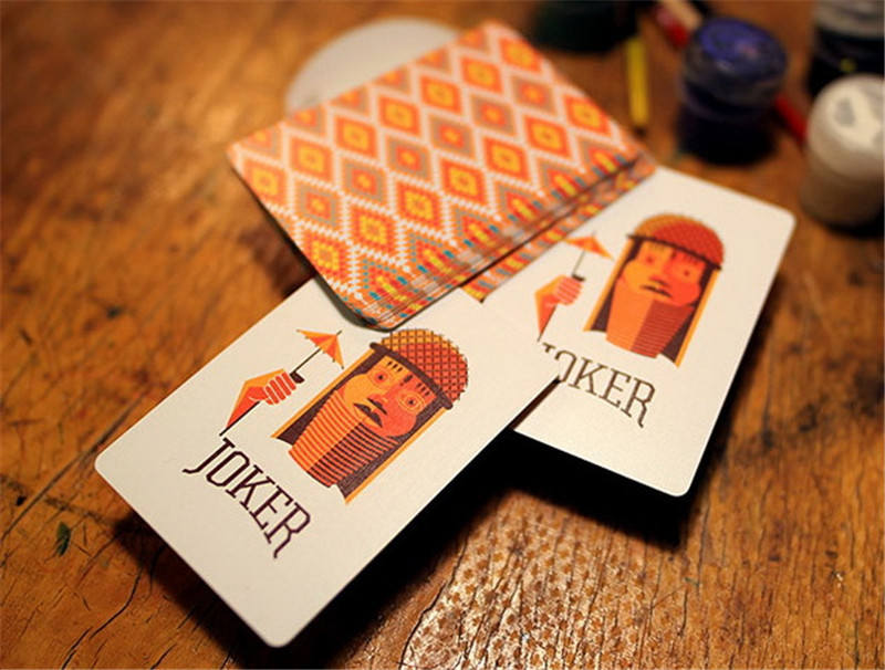 1 Deck Lost Wax DD Playing Cards Collection Flower Cut Magic Poker ...
