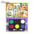 Colorful Non-Irritant Waterproof Paint Face Party Supplies Theatre Supplies Halloween Makeup Oil Fans Oil Clown Makeup Paint