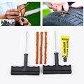 1 Conjunto Kit de Reparação de Pneus de Carro Auto Car Auto Moto Pneu sem câmara Tyre Puncture Plug Repair Tool Kit de Diagnóstico-ferramenta Do Carro acessórios