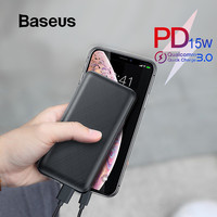 Baseus 20000mAh Power Bank For iPhone Samsung Huawei Xiaomi External Battery 3A Type C PD3.0 Fast Charging USB Charger Powerbank