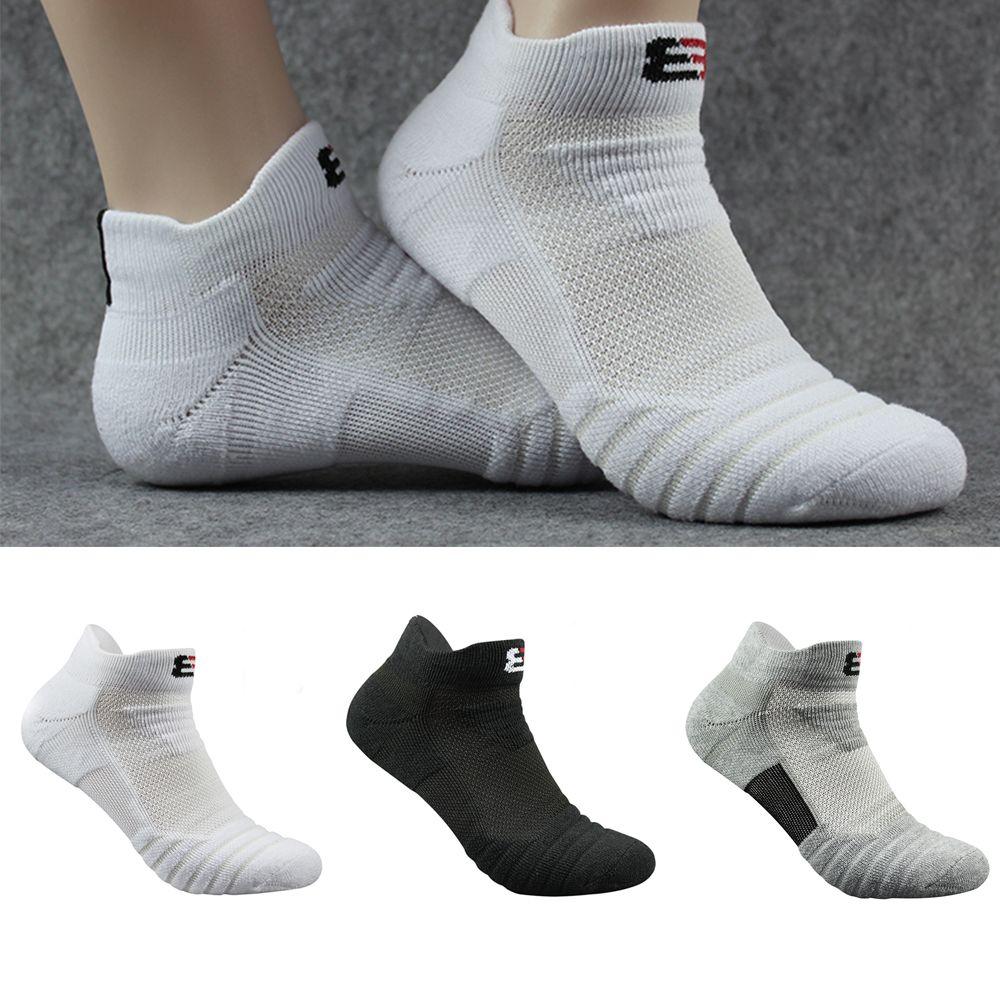 Men's Basketball Socks Cotton Thick Towel Bottom Boat socks Outdoor Sports Running Short Socks Men's Socks Cotton Socks