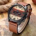 CURREN de la Marca Top de Cuero de Lujo de Los Hombres Relojes De Cuarzo de Negocios Hombres Hombre del Reloj Del Deporte Impermeable Relogio masculino Relojes Hombre