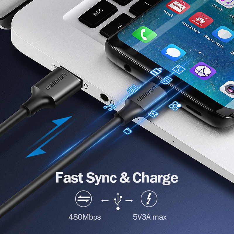 สายเคเบิล USB USB Type C สายสำหรับ Xiaomi Redmi หมายเหตุ 7 mi9 USB C สำหรับ Samsung S9 Fast Charging Wire USB-C โทรศัพท์มือถือชา