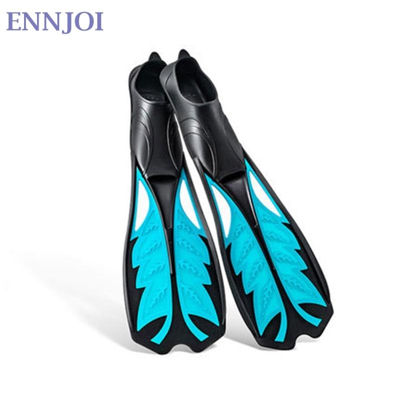 Gel de silice nageoire de plongée nage en apnée Foots longues palmes de plongée Sport aquatique pour natation palmes de plongée outil d'entraînement - 6