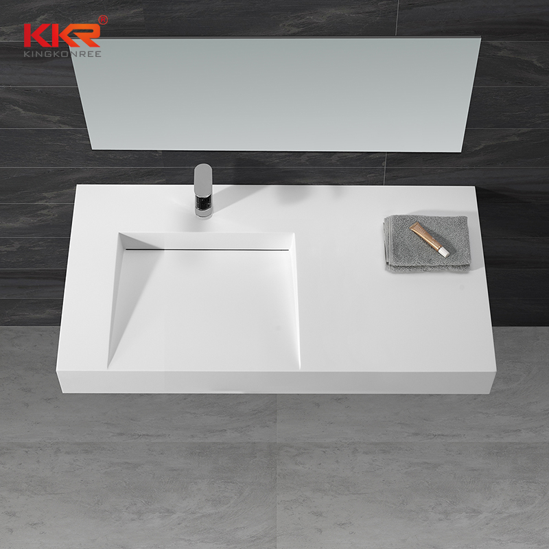 KKR solid surface material artificial stone countertop table top wash basin KKR 1375