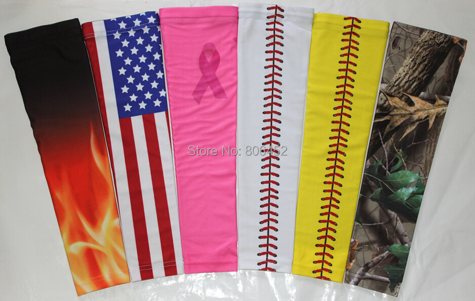 aed14dc15e cycling sleeve digital camo Arm Compression Sleeve Baseball Football  Basketball sleeve bike sleeve-in Arm Warmers from Sports & Entertainment on  ...