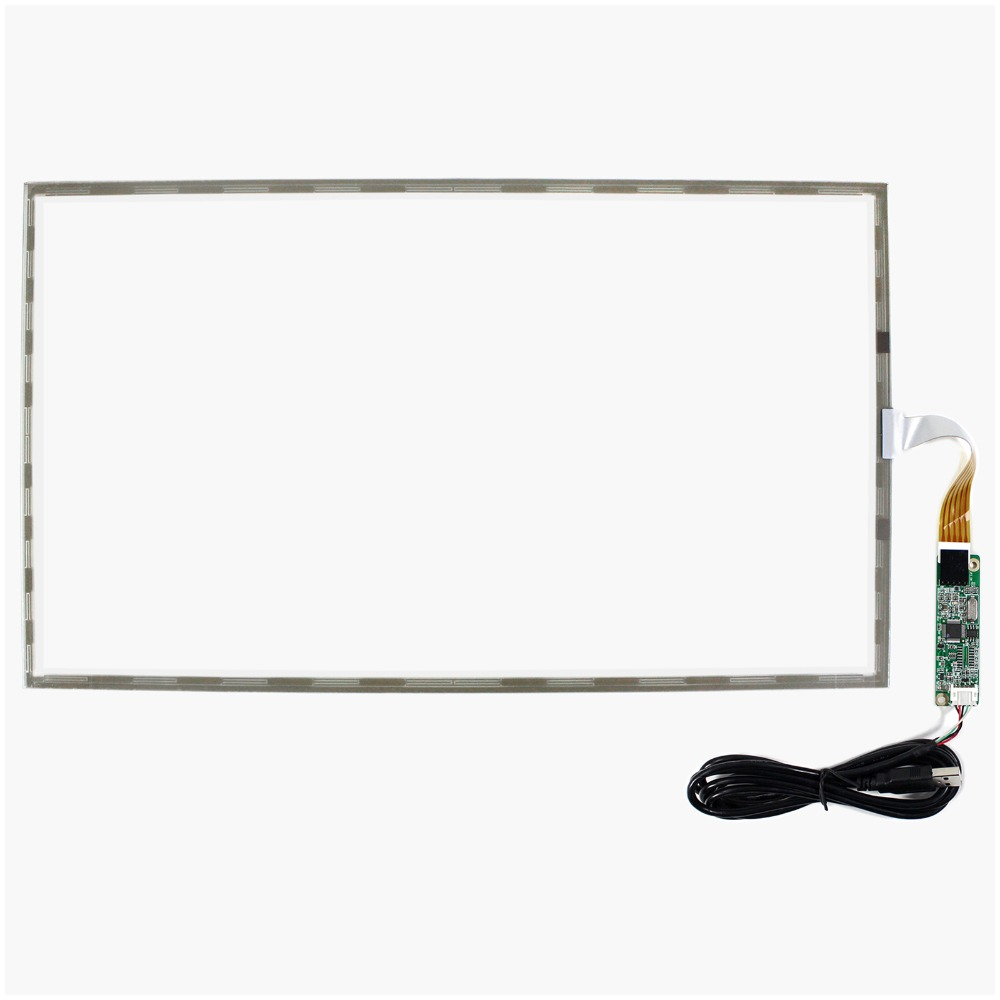 17.3inch 5 Wire Resistive Touch Panel USB Controller for 1920x1080 17.3inch 16:9 LCD
