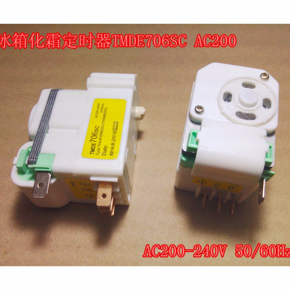 Original Air-Cooled Refrigerator Timer / Air-Cooled Defrost Timer/Timer Control Switch/TMDE706SC Refrigerator accessories Parts gemei gm 7003