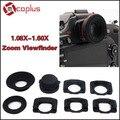 Mcoplus 1.08x-1.60x Zoom Окуляр Видоискателя Лупа для Nikon D7100 D7000 D5300 D5100 D3300 D750 D3100 D800 D600 D90 D80 D60