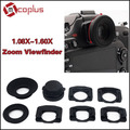 Mcoplus 1.08x-1.60x Zoom Viewfinder Eyepiece Magnifier for Nikon D7100 D7000 D5300 D5100 D3300 D3100 D800 D750 D600 D90 D80 D60
