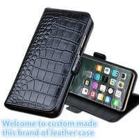LS12 Genuine Leather Wallet Flip Phone Cover For Huawei Nova 3(6.3') Phone Case For Huawei Nova 3 Flip Cover Case Free Shipping