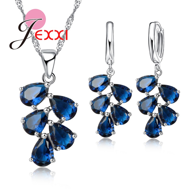 PATICO fijne 925 Sterling zilveren sieraden set voor vrouwen Lady - Mode-sieraden - Foto 5