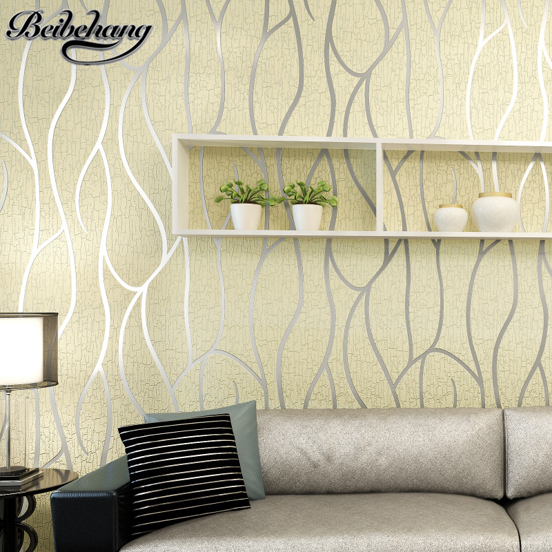beibehang 3D Stereo Striped Wallpapers Living Room TV background wallpaper Modern minimalist bedroom deerskin Wall paper beibehang warm european bedroom wallpapers 4d stereo nonwovens wallpapers living room tv background wallpapers