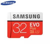 SAMSUNG Оригинальный Новый EVO Plus 32 Гб карта памяти Micro SD карты Class10 TF/SD карты C10 R95MB/S MicroSDHC UHS-1 Бесплатная доставка