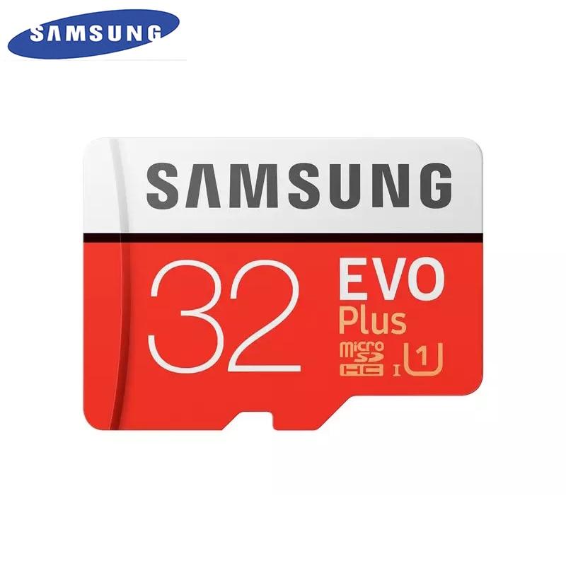 SAMSUNG Original New EVO Plus 32GB Micro SD Memory Card Class10 TF/SD Cards C10 R95MB/S MicroSDHC UHS-1 Free Shipping samsung evo micro sd 32gb uhs i u1 95mb s 2017 model