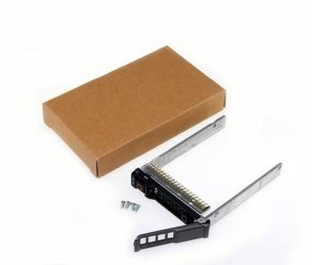 SAS serie SCSI SATA HDD bandeja Caddy NRX7Y SAS bandeja adaptador para Dell NRX7Y M620 M820 M520 2,5 pulgadas duro soporte de servidor de transmisión