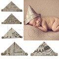 Da Criança Do Bebê recém-nascido Infantil Macio Handmade Fotografia Props Cap Chapéu