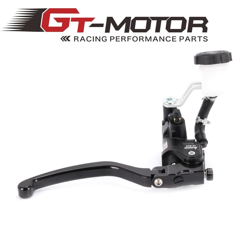 GT мотор - мотоцикл 19RCS Аделин тормозной главный цилиндр гидравлический для Honda R1 и R6 FZ6 GSXR600 750 1000 NINJA250 на ZX-6р Z750 z800 для