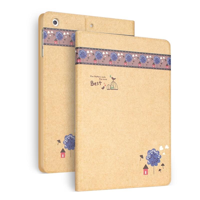 Smart Case For iPad Mini 4 Flip Stand Colorful Print case For iPad Mini4 A1538 A1550 +screen protector цена и фото