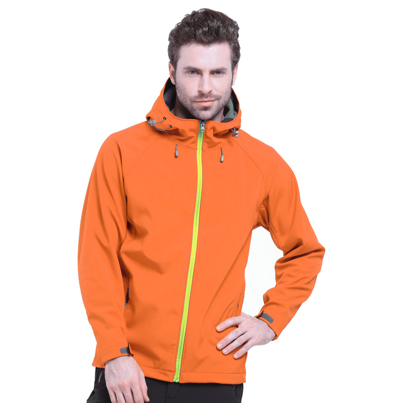 IEMUH Outdoor Soft Shell Fleece Jacket Ерлер Polartec - Спорттық киім мен керек-жарақтар - фото 5