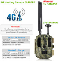 4G Scout Guard Hunting Camera GPS 940nm Infrared No Flash 12MP HD 1080P MMS GPRS Night Vision Photo Traps Trail Game Wild Camera