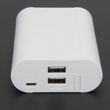 Power Bank 18650 Battery Case Box/DIY Capacity Led Voltage Current Display Powerbank Charger for Iphone 5s 6 6s
