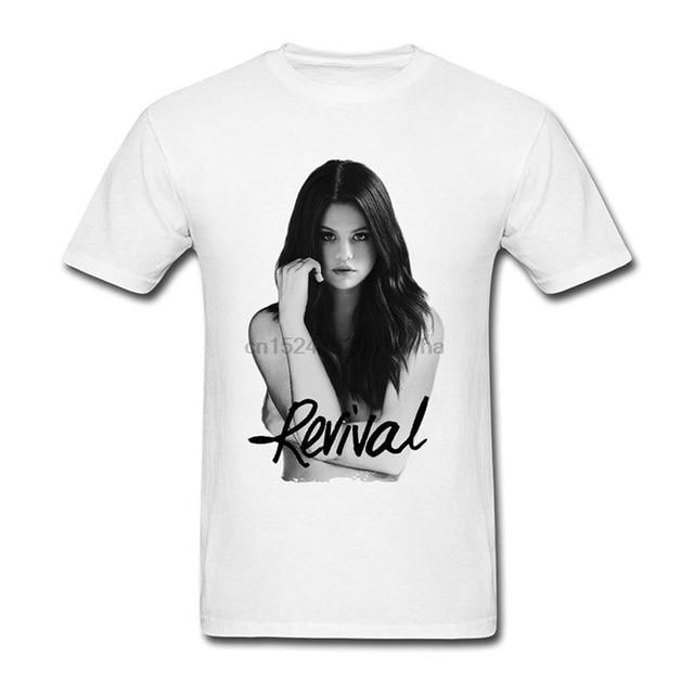 2c0006f9 Men T Shirt Men's Selena Gomez Revival Tour T shirt women t shirt-in ...
