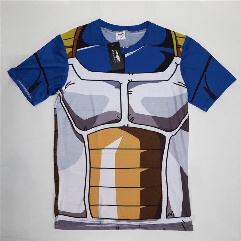 New compression Men and women T-shirt dragonball character T-shirt, vegeta, kaka, ronaldo, meat machine, turtle immortals