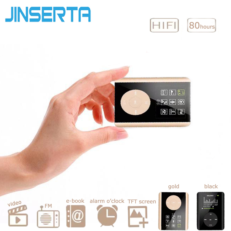 JINSERTA Mp3 Player 1.8