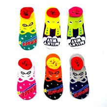 ALYDamei cartoon Spoof socks Monster Alien fashion novelty funny cute Low Cut Ankle women sock comfortable cotton