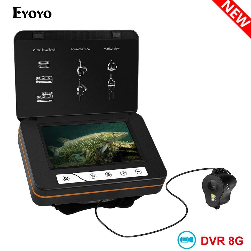 EYOYO Unterwasser Fisch Finder Video Kamera für Angeln 1000TVL 5