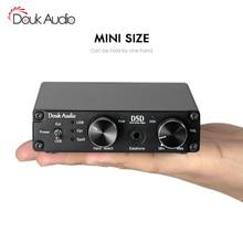 Decodificador de Audio XMOS USB DAC DSD1796 HiFi, auriculares, Amp SPDIF, control de volumen