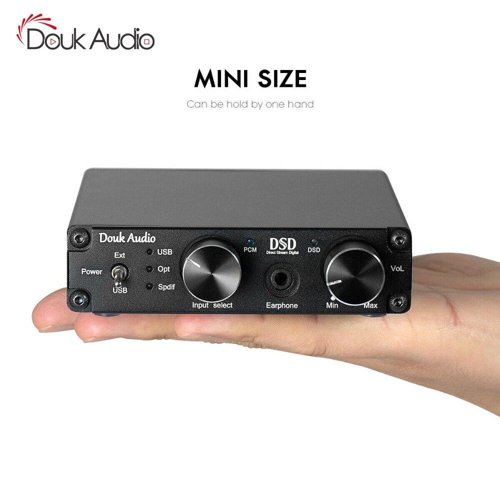 XMOS USB DAC décodeur Audio DSD1796 HiFi casque ampli SPDIF contrôle du volume
