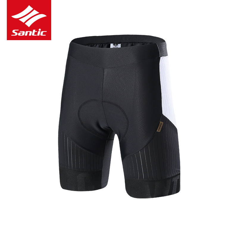 Santic Cycling Shorts 2017 Pro Team Racing Style Bicycle Shorts Men Aerodynamics 4D Padded Bike Shorts