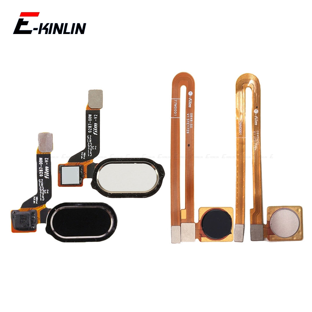 Home Button Fingerprint Recognition Sensor Menu Return Button Flex Cable Ribbon For OnePlus 2 3 3T 5 5T Replacement Part
