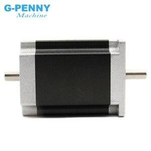 Image 5 - NEMA23 ステッピングモータデュアルシャフト 57 × 76 ミリメートル D = 8 ミリメートル 1.89N。 m 3A 4 鉛 1.8deg ダブル Cnc マシンと 3D プリンタ!