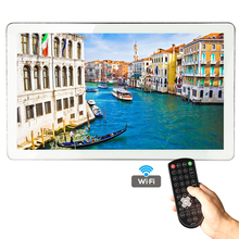 21.5 inch Android Smart Waterproof TV for Bathroom with Silver / Gold Aluminum Frame