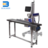 Running belt table for laser marking machine/pen laser marking/on line laser marking table for volume production