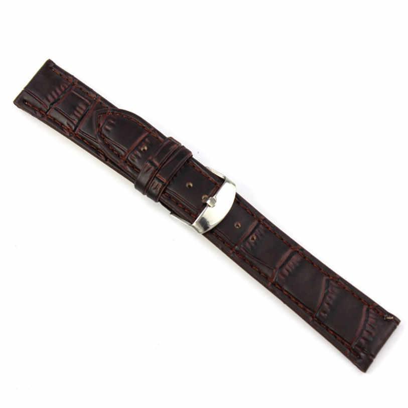 Superiore di Alta Qualità 18mm, 20mm, 22mm Sweatband Molle del Cuoio Bracciale Acciaio Fibbia Da Polso Watch Band settembre 20