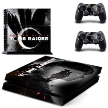 Shadow of the Tomb Raider PS4 Skin Console & Controller Decal Stickers for Sony PlayStation 4 Console and Two Controller